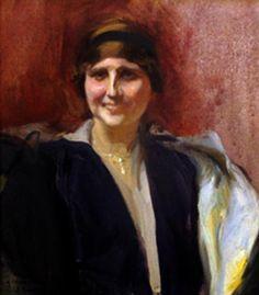 Portrait of a girl - Joaquín Sorolla