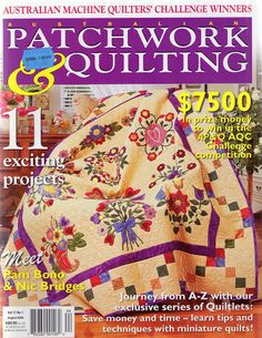 patchwork e - Rosella Horst - Веб-альбомы Picasa Quilting Tools, Hand Quilting, Quilting Projects, Quilting Designs, American Patchwork And Quilting, Patchwork Tutorial, Sewing Magazines, Bird Quilt, Miniature Quilts