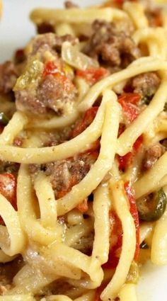 Cheeseburger Spaghetti Ro*Tel Cheeseburger SpaghettiCheeseburger (disambiguation) A cheeseburger is a hamburger with cheese in addition to the meat. Cheeseburger may also refer to: Pasta Recipes, Dinner Recipes, Cooking Recipes, Soup Recipes, Chicken Recipes, Chicken Spaghetti Recipes, Dessert Recipes, Cooking Corn, Cheesecake Recipes