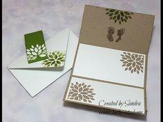 Scrap tutorial:Partecipazioni matrimonio fai da te-Wedding Invitations-Buste envelope punch board - YouTube