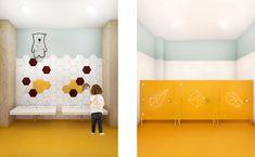 MODERN INTERIOR IN KINDERGARTEN Modern Interior, Kindergarten, School, Home Decor, Decoration Home, Room Decor, Modern Interiors, Kindergartens, Contemporary Interior