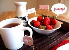 Valentines Day Printable Breakfast Kit