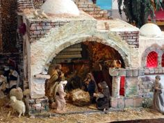 Beautiful Births or Christmas Nativity scenes
