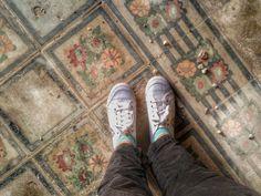 Pavimento Villa Skirmunt (casa degli spiriti) Brindisi (Italy)