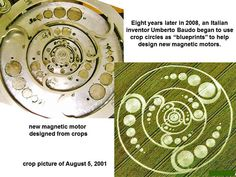 magnetic motor build from a crop circle pattern vizualization Aliens And Ufos, Ancient Aliens, Ancient History, European History, American History, Tantra, Coral Castle, Arte Alien, Crop Pictures
