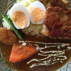 #okinawa #curry #沖縄 #カレー  #北谷 美味しかった