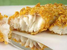 Cornflake oven baked fish recipe