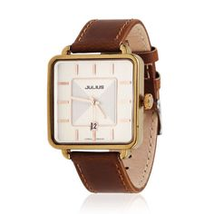 Simple Love Couple Leather Watch