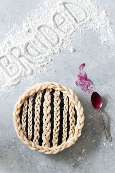 Learn how to make a gorgeous braided pie crust!