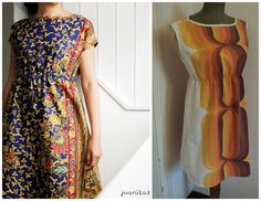 simple dress pattern One of my favorite blogs!