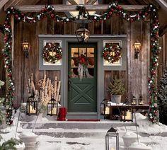 Very Christmas front door