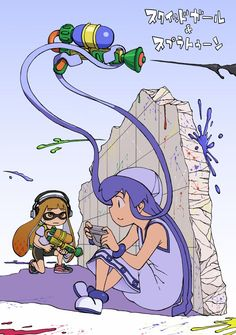 Imagine how the Squid Girl DLC will be like in Splatoon