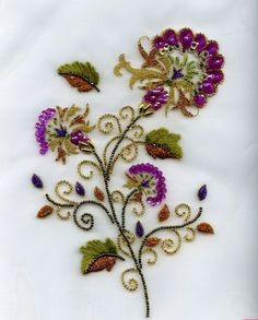 Bead embroidery Haute-Couture