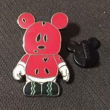 Disney Vinylmation Mystery Pin Collection - Urban #3 - Watermelon (Chaser) Only