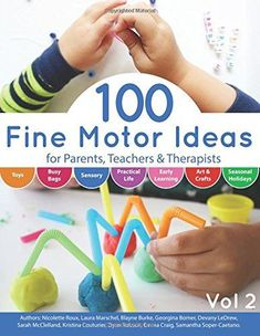 100 Fine Motor Ideas is a wonderful resource for parents, teachers and therapists seeking fun activities for kids to engage them in fine motor skills. Science Experiments For Preschoolers, Fine Motor Activities For Kids, Math Activities For Kids, Motor Skills Activities, Gross Motor Skills, Hands On Activities, Preschool Science, Science Ideas, Steam Activities