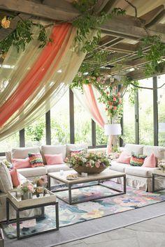 seating vignettes + custom pergolas calder clark designs blossoms events harwell photography old edwards inn weddings