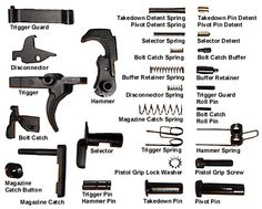 AR15 parts.  And yes we carry these parts in our store!  **May or may not have in stock at the store** #ar15 #parts #psa