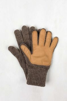 Ragg Wool Gloves with Leather | United By Blue  - 3