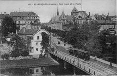 Archives Strasbourg. Pont Royal.