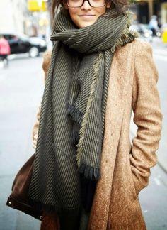 I want pretty: LOOK-Ideas de cómo usar un abrigo beige.