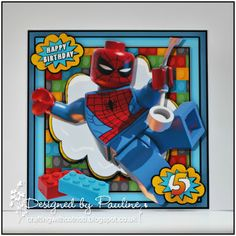 Crafting with Cotnob, Children, CraftsUprint, Decoupage, Superhero