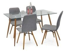 AMANDA-ruokaryhmä 4 tuolilla