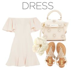 """""""Untitled #188"""" by catrina-lang on Polyvore featuring Valentino, Qupid and ZAC Zac Posen"""