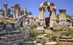 Ancient Gate Ruins Pillars Old Summer Palace Yuanming Yuan Beijing China Old Summer Palace, China Travel, China Trip, Kunming, Ancient Ruins, Ancient History, Chinese Garden, Beijing China, Ancient Architecture