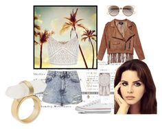 """""""Ride"""" by nataliejo13 ❤ liked on Polyvore featuring Topshop, Michael Kors, Christian Dior and Converse"""