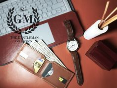 The Gentleman : Highest quality leather minimalist wallet Slim & Secure Wallet, Premium Durable Leather, Convenient pull-out strap, Designed for Functionality Slim Wallet, Minimalist Wallet, Gentleman, Projects, Leather, Design, Log Projects, Gentleman Style