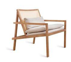 Poltrona barra. Del prolífico diseñador de muebles brasilero, Bruno Faucz, ya citado en varios otros posts