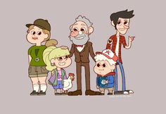 Reverse Gravity Falls | Tumblr<<< I like to think that in reverse falls that the characters symbols do not change
