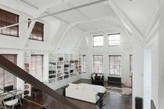 Fantastisch Hohe Decken Und Pur Weiße Wände Prägen Eine Luxus Wohnung In London #decken  #london