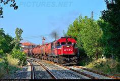 RailPictures.Net Photo: 80721 Hellenic railways MLW MX636 at Amyntaio, Greece by Stefanos Vardaris