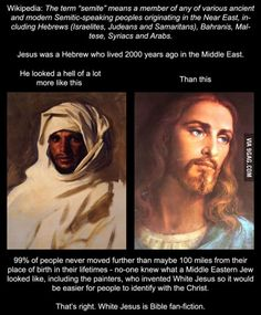 The Iconic photos of Jesus are incorrect