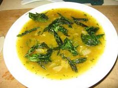 Myanmar - Vegetarian - Schwe Payon Hinjo (pumpkin soup with Thai basil) #recipe #kitchen