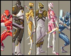 You, Mighty Morphin' Power Rangers by Fpeniche.deviantart.com on @deviantART