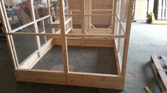 2 Rabbit walk in Runs conected together by a rabbit safe Tunnel Handmade By Boyles pet housing