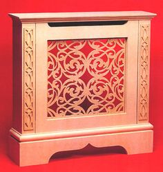 Radiator Cabinets - (drop-down front access to radiator), Made To Measure Cabinet...