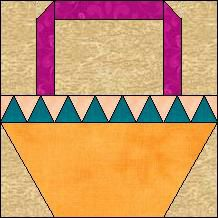 Block of Day for March 13, 2014 - Dogtooth Basket