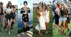 Las celebrities reafirman que el boho chic sigue de moda en Coachella, el festival de música más fashionista.