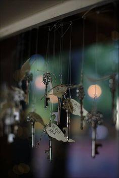 Harry Potter Wedding Wedding Favors Harry Potter Flying Keys Skeleton Keys Skeleton Key Bottle Opener