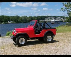 1963 Willys Pink Jeep Surrey Gala Hyman Ltd. Classic