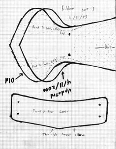 Elbow cop pattern