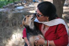 Sulakshmi doesn't eat until she has fed all her dogs. No, they are not one, two or three, they are 500+ 65 year old Sulakshmi resides in C.R. Park.Her heartrending passion towards feeding and taking care of over 450 dogs across Delhi NCR is just inspiring. She has sold her land & jewelry to raise funds for food and medical help. You can read more about her cause and how to help here: FeedStrays and join hands with #SulakshmiDasgupta and make it easier for her.