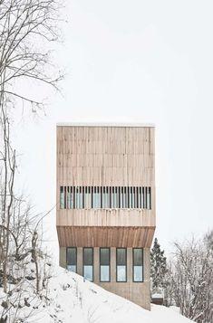 """""""The Two-in-One House"""" en Norvège par Reiulf Ramstad Arkitekter - Journal du Design"""