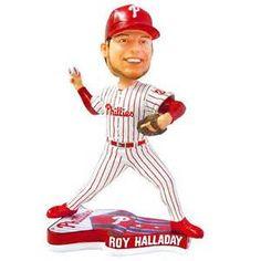 Roy Halladay Philadelphia Phillies MLB Forever Collectibles Bobblehead NIB NIP Phils #RoyHalladay #PhiladelphiaPhillies #MLB #Bobblehead #ForeverCollectibles #MarvelousMarvs #MarvelousMarvinMurphys