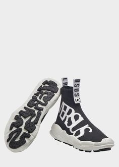 buy online 66a88 32c41 Anatomia Sock Sneakers - Versus Logo - print Shoes Tejer Calcetines,  Accesorios Para Mujeres