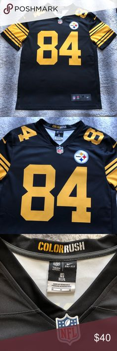 4c9478e5b 13 Best Steelers Antonio Brown Black Authentic Jersey For Women s ...