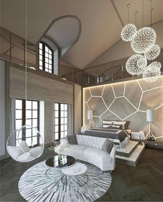 Cheap Home Decor Online Best Interior Design, Interior Decorating, Decorating Tips, Modern Bedroom, Bedroom Decor, Master Bedroom, Cheap Home Decor Online, Home Luxury, Bedroom With Sitting Area